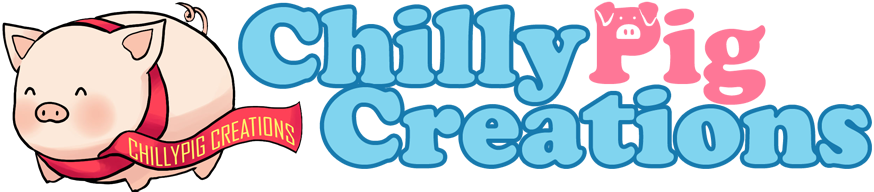 Chillypig Creations Custom Acrylic and Wood Charm Printing Logo